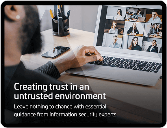 How to create trust in an untrusted environment. Cyber experts offer their views